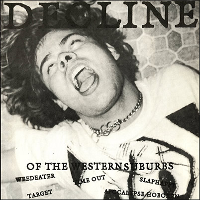 VARIOUS ARTISTS - 'Decline of the Western Suburbs' 7""