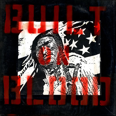 "VARIOUS ARTISTS - 'Built On Blood' 7"" [Included with LP]"